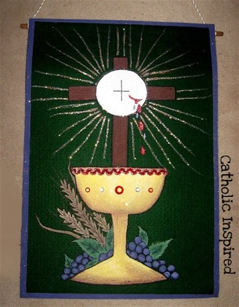 first communion banner number 2 catholic inspired