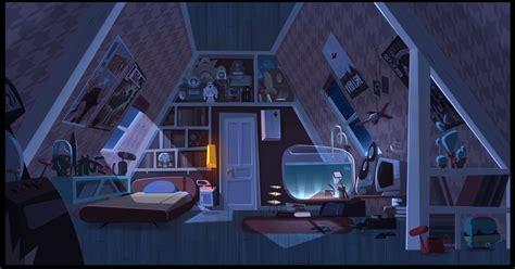 environment design for animation quot jimmy s got tentacles quot copcep art by gael becu concep