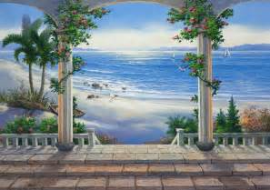 3d wall murals bing images murals custom hand painted wall murals by art effects