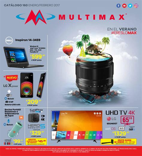 Tv Multimax catalogo multimax verano by interiores estilo issuu