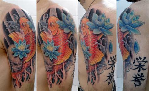 lighttouch tattoo carpa koi tatuagens by mr paul