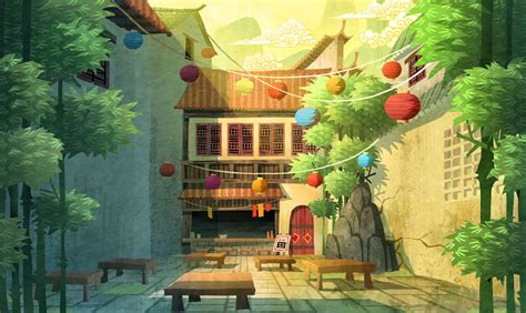 Fu S House by Nate Wragg And Illustration Kung Fu Panda Secrets