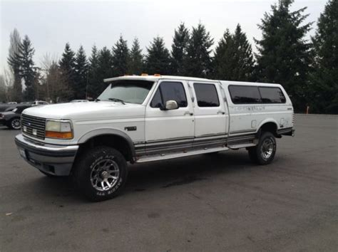 how cars engines work 1995 ford f350 lane departure warning 1992 ford f 350 crew cab long 4x4 low miles 85k 1993 1994 1995 1996 1997 for sale photos
