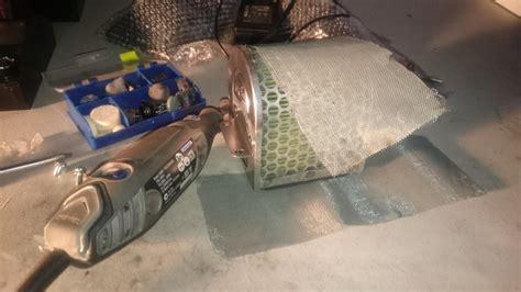 Nulon Foaming Air Intake 1 high flow intake mod honda cbr500r forum cb500f and cb500x forums