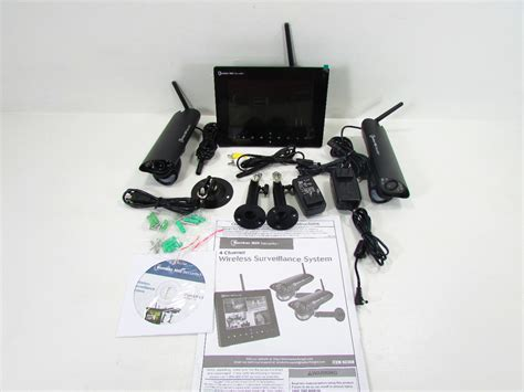 bunker hill 62368 security wireless surveillance system