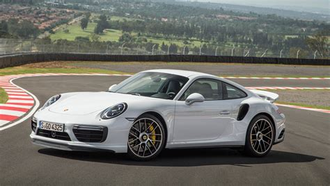 porsche 2017 white driving the 2017 porsche 911 turbo in south africa robb