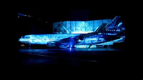 4d projection 4d projection projection mapping 3d klm experience md11 4d projection mapping youtube