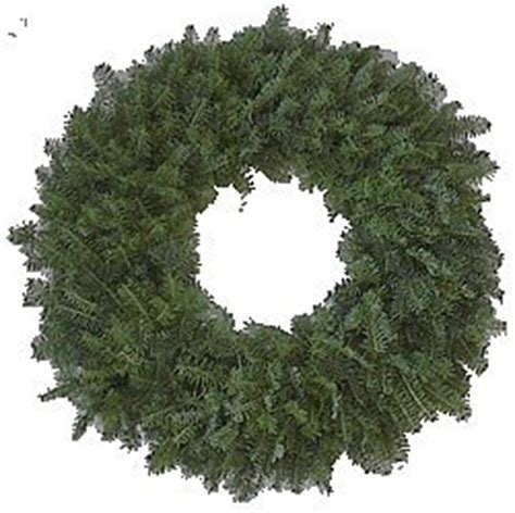 amazon com 24 quot plain christmas wreath kitchen dining