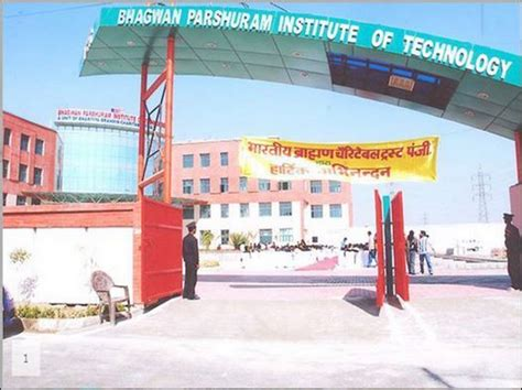 Iit Delhi Fee Structure For Mba by Fee Structure Of Bhagwan Parshuram Institute Of Technology