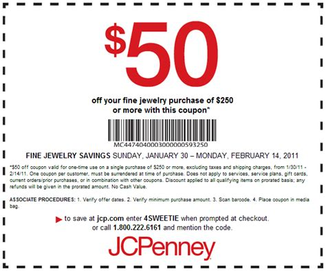 jcpenney printable coupons usa jcpenney 50 off 250 jewelry printable discount