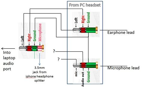 headphone wiring diagram 4 pin headphone