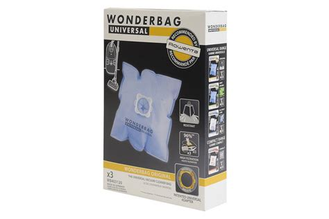 wonderbag universal original sacs pour aspirateur wb403120 fiyo fr