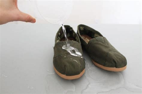 lessons how to waterproof your shoes brit co