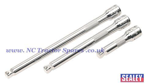 Socket Extension Bar Ktc Sq 12 200mm wobble rigid extension bar set 3pc 3 8sq drive