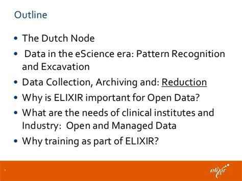 pattern recognition course outline elixir and open data view from an elixir node