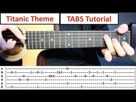 Tutorial Fingerstyle Titanic | titanic my heart will go on fingerstyle guitar lesson