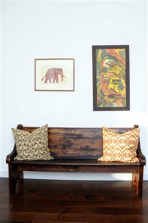 antique hallway bench antique bench mudroom hallway idea eclectic hall los