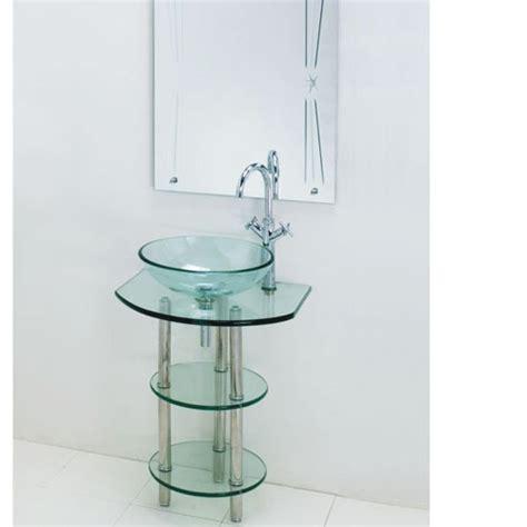 Pedestal Sink Mirror clear glass pedestal sink with mirror interior home