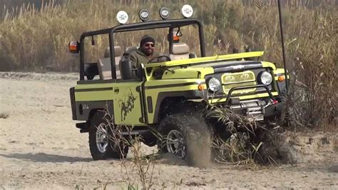 jonga jeep jonga offroading vs thar offroading youtube