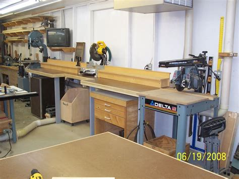 bench chop saw completed miter saw bench by stanleywc lumberjocks