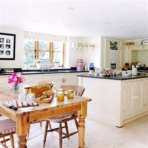 country kitchen diner ideas open plan kitchen diner with butcher s block unit open plan kitchen design ideas decorating