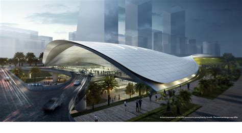 design competition singapore farrells and aecom to design singapore high speed rail