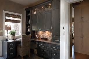 using kitchen cabinets for home office 17 gray home office furniture designs ideas plans