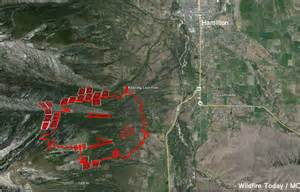 Montana Fire Map by Montana Wildfire Today
