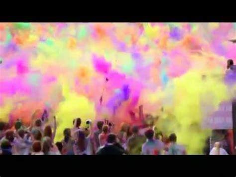 color war powder war of colored powder