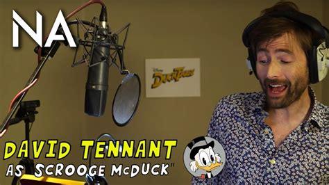 david tennant ducktales david tennant stars in ducktales 2017 youtube