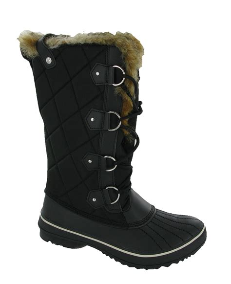 skechers highlanders matterhorn fur lined winter warm