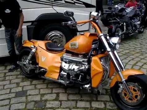 Boss Hoss Motorrad Sound by Boss Hoss V8 Sound Youtube