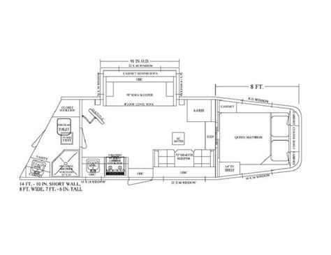 horse trailer floor plans pin by equine rv on living quarter floor plans pinterest