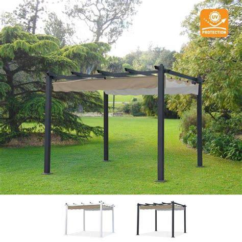 gazebi per bar gazebo quadrato 3x3 con protezione uv in alluminio per bar