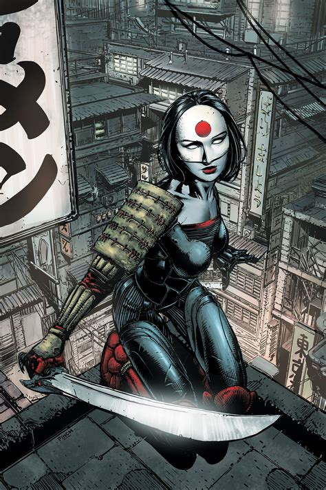 katana dc comics review is she ready for her close up katana 1 3 the beat