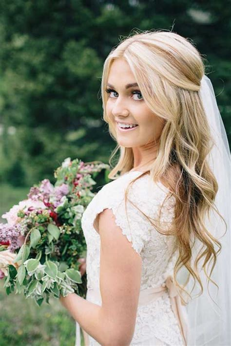 Wedding Hair For 40 by 40 Best Wedding Hairstyles For Hair