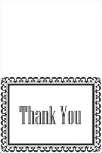 thank you card template print out printable thank you cards lovetoknow