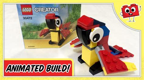 Dijamin Lego 30472 Polybag Parrot lego creator parrot 30472 animated build
