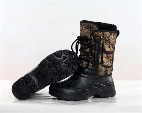 mens lightweight waterproof snow boots mens camouflage boots fishing boots