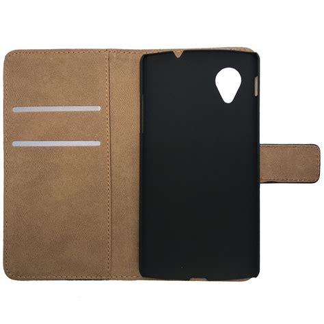 Leather Card Holder 5 leather wallet card holder nexus 5 black