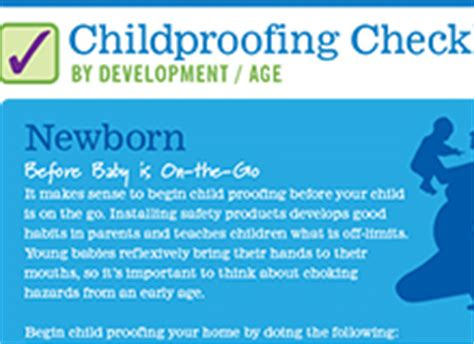 childproofing your home checklist childproofing checklist by age childproofingexperts