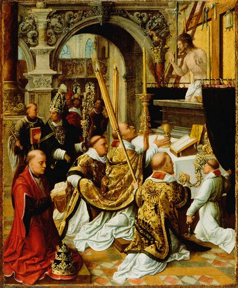the about st the mass of gregory the great getty museum