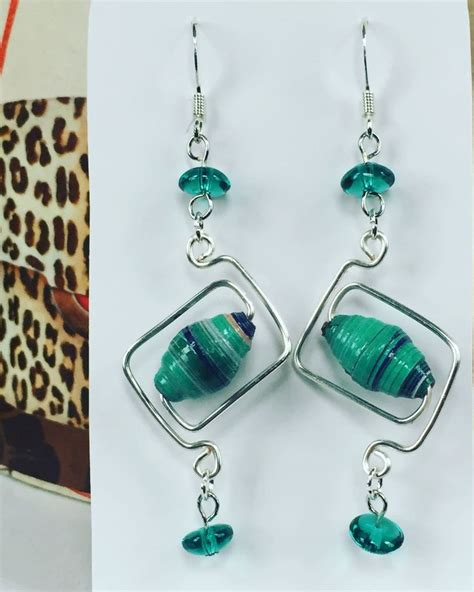 Paper Jewellery Earrings - 983 best images about bisuteria con papel paper jewelry
