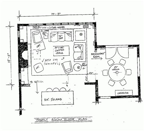 family room floor plans floor plan of living room peenmedia com