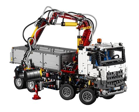 technic truck mercedes benz arocs 3245 launched it s a technic