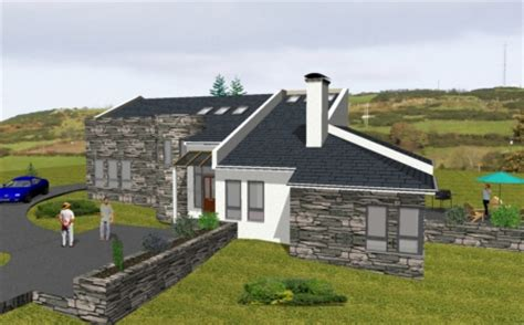 irish house plans ie mod012 split level house irish house plans ie country house ideas pinterest