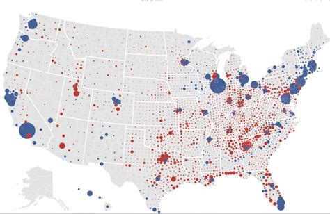 us map and blue counties 2012 common cents maps of 2012 us presidential election