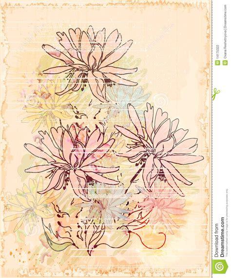 vintage sketch book vintage sketch stock photography image 14175322