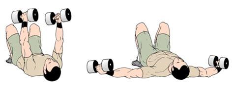 Dumbbell Flys Floor kettlebell dumbbell floor press exercise one arm