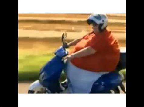 vidios orang gemuk pernah liat orang gemuk segini naik motor youtube